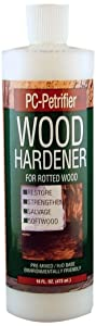 PC Products PC-Petrifier Water-Based Wood Hardener, 16oz, Milky White 164440