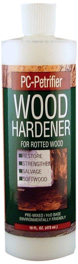 PC Products 164440 PC-Petrifier Water-Based Wood Hardener, 16 oz Bottle, Milky White