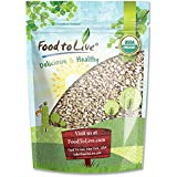 Organic Sunflower Seeds by Food to Live (Raw, Kernels, No Shell, Kosher, Bulk) — 4 Pounds