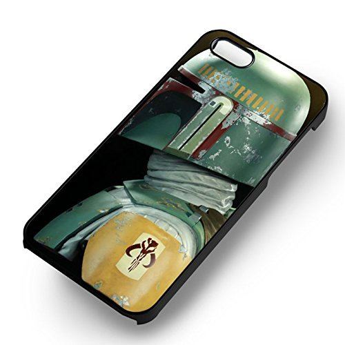 Star Wars Boba Fett for Iphone 6 and Iphone 6s Case (Black Rubber (Jano Fett)
