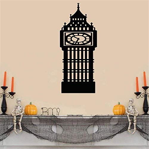 Vinyl Removable Wall Stickers Mural Decal Art Family Decals Wall Stickers Art Decor Decals Big Ben London Clock UK Landmark Scenery for Living Room