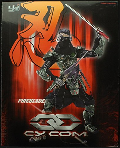 Amazon.com: BBi 1:6 Cy Com Cyborgs FireBlade Night Ninja ...