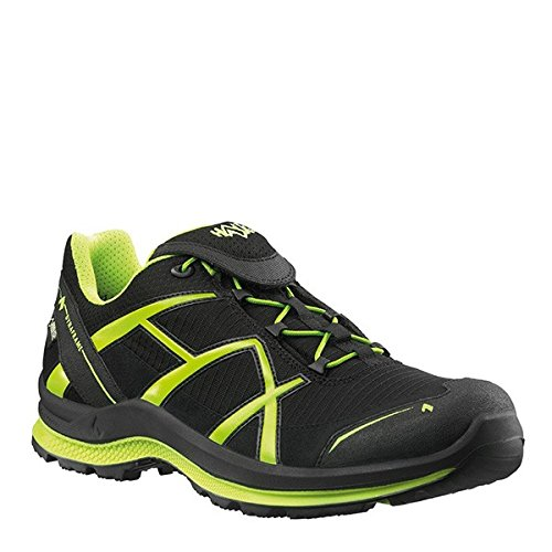 Zapatillas Black Eagle 2 Haix 0 Black Tex Gore membrana deportivas Yellow con Blue nbsp;Low Adventure pwqqY5O