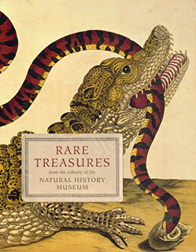 Rare Treasures from the Library of the Natural History Museum (Box Set of Book and Frameable -