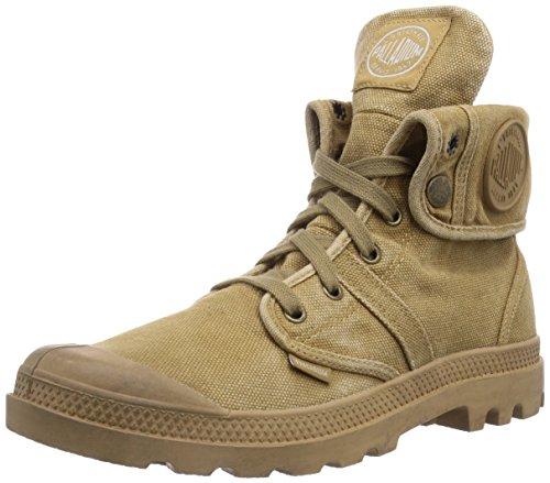 Postage Earth - Palladium Men's Pallabrouse Baggy, Woodland/Honey, 9.5 M US