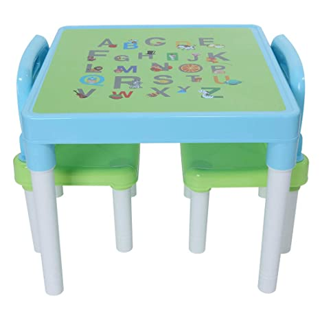Strange Sallymonday Kids Table And Chairs Set Family Time Toddler Activity Chair Best For Toddlers Reading Train Art Play Room Little Kid Children Alphanode Cool Chair Designs And Ideas Alphanodeonline