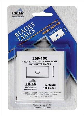 - Logan Replacement Blade for Framers Edge 650 Mat Cutter - Pack 100