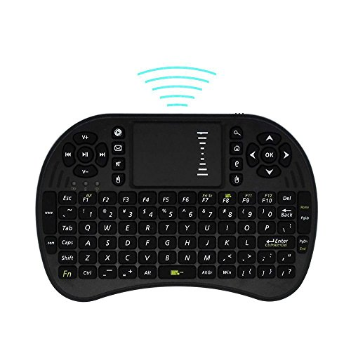 (C-Zone 2.4G Multi-media Portable Wireless Mini Keyboard with Mouse Touchpad for TV Box/Xbox 360/PS3/IPTV/HTPC)