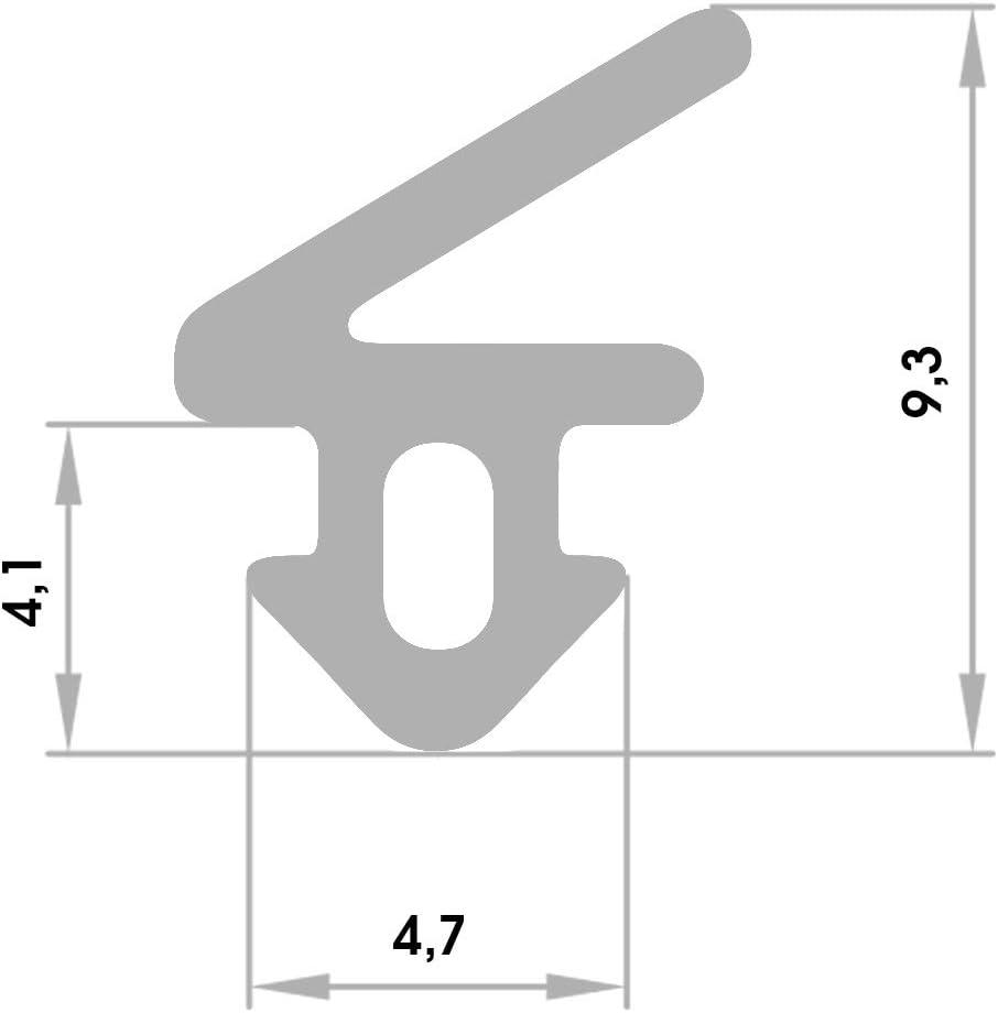 BlueCosto Tapas para patas de sillas 12 unidades, redondas, de PVC, redondas color negro