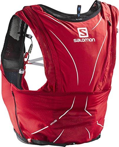 Salomon Salomon ADV SKIN 12 SET Sports Water Bottles, Matador/Black, Medium/Large, Matador/Black, Medium/Large by Salomon