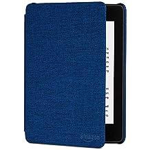 Funda de piel y resistente al agua para Nuevo Kindle Paperwhite (sólo sirve para Kindle Paperwhite 10ª generacion), color azul marino