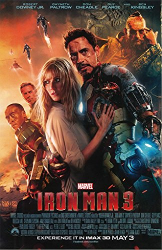 The Avengers Iron Man 3 Tony and Pepper 11 x 17 Movie Poster Litho and with FREE COMIC CON GIFT! from The Avengers
