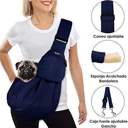 SlowTon Tragetuch Hund, Katze Haustier Hand Schleuderträger Schultertasche Verstellbare
