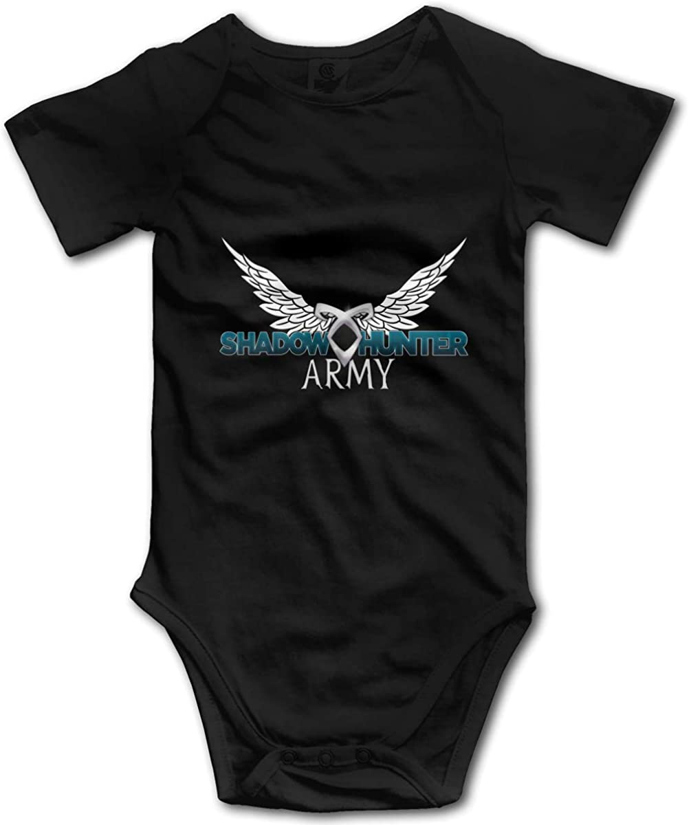 Shadowhunter Baby Bodysuit Unisex 0-24 Months Funny Novelty Infant One-Piece Onesies