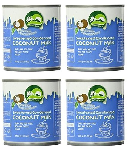 - Nature's Charm Sweetned Condensed Coconut Milk, 11.25 Ounce. (Pack of 4)
