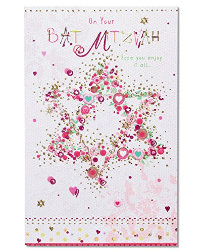 American Greetings Bat Mitzvah Congratulations Card with Foil