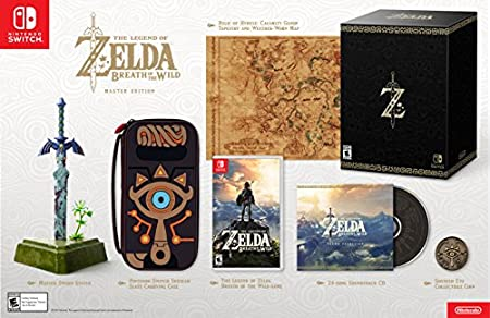 The Legend of Zelda: Breath of the Wild Master Edition - Switch