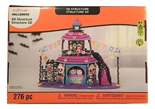 Creatology Halloween 3D Light Up Activity Kit ~ Day of the Dead Celebration (276 Pieces) -