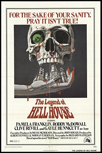 "The Legend Of Hell House 1973 ORIGINAL MOVIE POSTER Horror Mystery - Dimensions: 27"" x 41"""