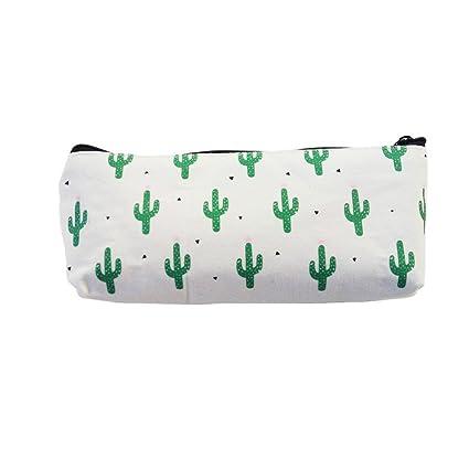 Kawaii Lápices 1 unidad/lote Cactus estuches de lona bonito ...