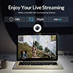 Angetube Streaming 1080P HD Webcam