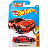 Hot Wheels '15 Dodge Charger SRT Muscle Mania 130/250, Long Card by Mattel