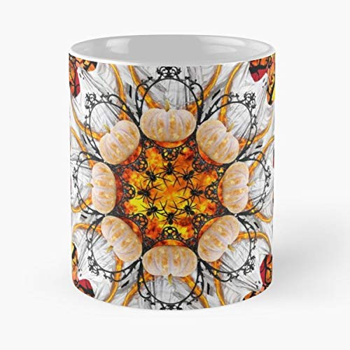 Bloody Mandala Grave Halloween 11 Oz Coffee Mugs Best Gift For Father Day]()