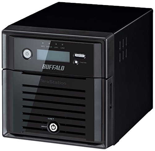 Buffalo TeraStation 5200 2-Drive 2 TB Desktop NAS for Small/Medium Business SMB (TS5200DN0202) by BUFFALO