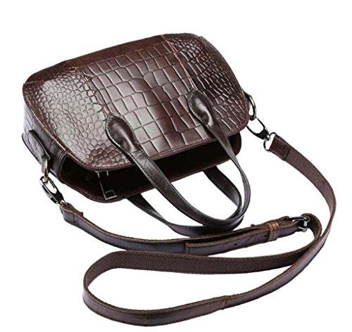 Les Lady Mode Unique SHOUTIBAO Voyage Main Leather Mini Sac Travail à Jours Sac Sac Messager Sac à Motif Bandoulière Crocodile Shopping Tous TTwqv5Xx