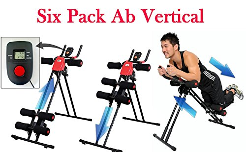 Abdominal+Machine Products : EVANA Ab Vertical 5 Minute Shaper Fitness Equipment Vertical Abdomen Abdominal Ab Abdomen Machine Ab Coaster Round Waist Trainer Power Plank