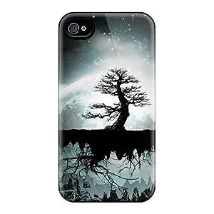 Slim New Design Hard Case For Iphone 4/4s Case Cover - RtfkthF1805pkgul