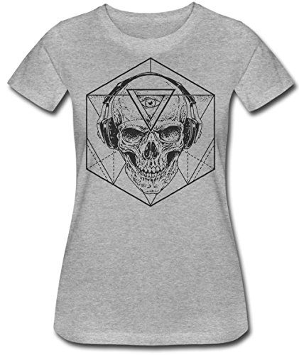 Evil Skull Design Women's T-Shirt