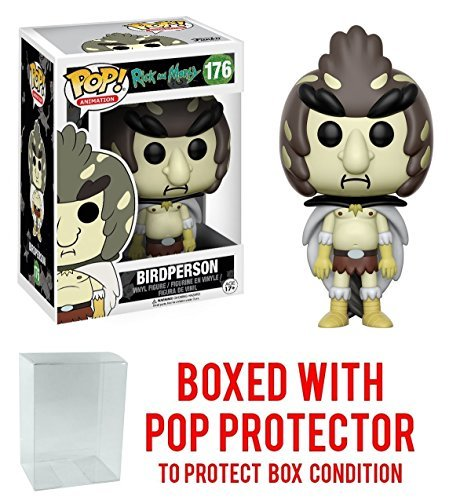 Pop! Animation Bird Person Vinyl Figure (Bundled with Pop Box Protector CASE) ()