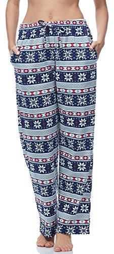 119 Ladeheid Modello Pantaloni 4Blu LA40 Donna Pigiama AwwSqUp