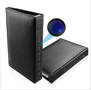 Ydq Cámara Oculta Cámara Espía Libro Mini Cámara HD 1080P