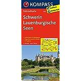 Schwerin - Lauenburgische Seen: Fahrradkarte. GPS-genau. 1:70000 (KOMPASS-Fahrradkarten Deutschland, Band 3017)