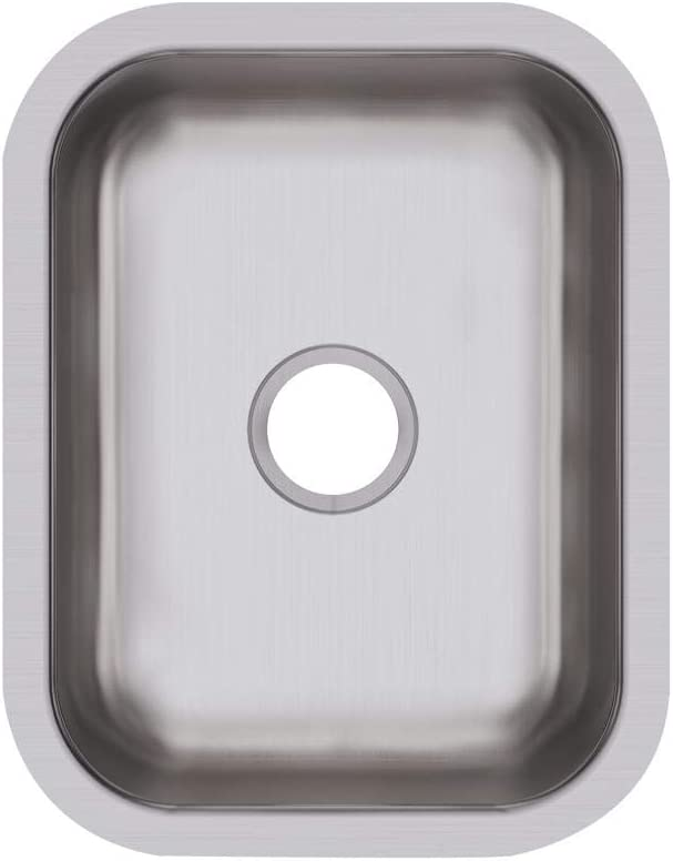 Elkay DXUH1318 Dayton Single Bowl Undermount Stainless Steel Bar Sink