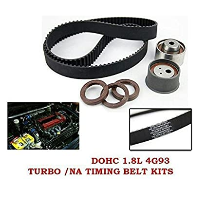 Amazon.com: OEM Timing Belt Kit ~ Mitsubishi Lancer CC Galant 4G93 Turbo/NA 1.8L 4G93-T: Automotive