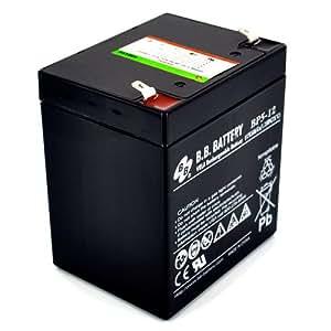 batería BB Battery BP5-12 5Ah 12V (90mm*70mm*102mm) SAIs (UPS), videocamaras...