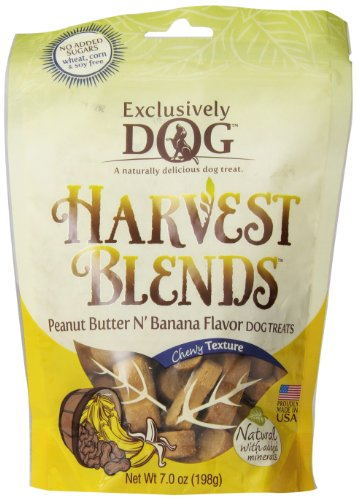 exclusively-pet-harvest-blends-peanut-butter-n-banana-flavored-treats-7-ounce