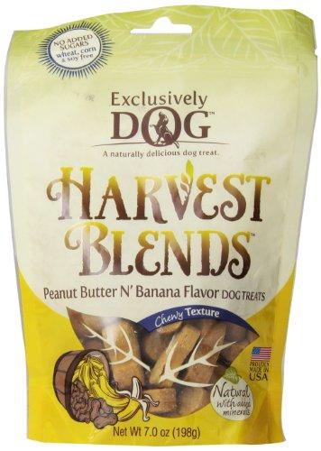 Exclusively Pet Harvest Blends Peanut Butter N Banana - Peanut Butter Banana Dog Treats