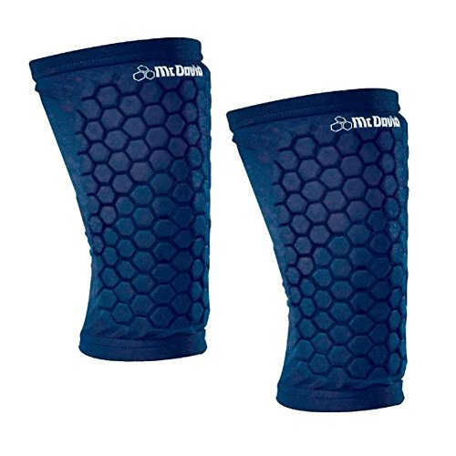 mcdavid knee pads blue - 3