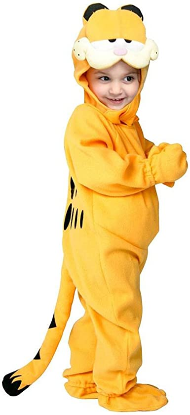 Amazon Com Garfield Infant Toddler Costume 4t Clothing