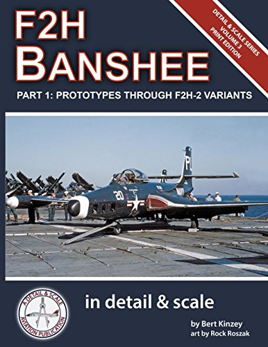 Scale Military Aircraft Series - F2H Banshee in Detail & Scale Part 1: Prototypes Through F2H-2 Variants (Detail & Scale Series)