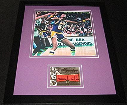 bddc2b4d3ae Jamaal Wilkes Autographed Photo - Framed 11x14 Display - Upper Deck  Certified - Autographed NBA Photos