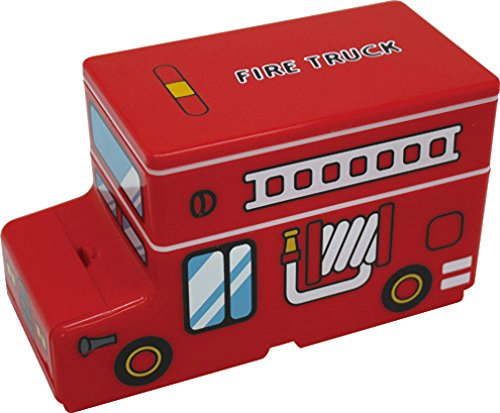 Vehicles die-cut two-stage lunch fire engines PN-2074-120