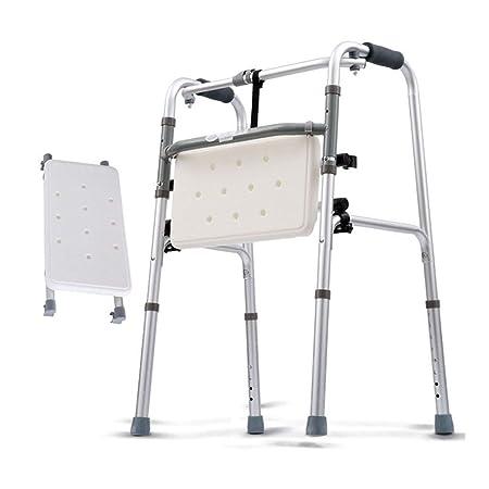 Andador plegable para mayores, marcos para caminar Andadores ...