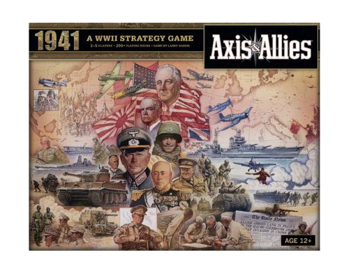 Avalon Hill Axis and Allies 1941 Board Game (Axis Miniatures And Allies)