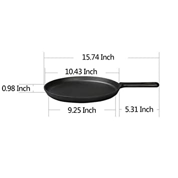 Amazon.com: Pan Nonstick Cast Iron Induction All Hobs ...
