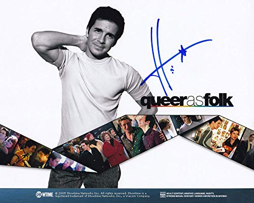 Hal Sparks In-person Autographed Photo Queer as Folk from Sign Here Autographs